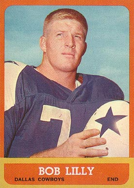1963 Topps Bob Lilly #82 Football Card
