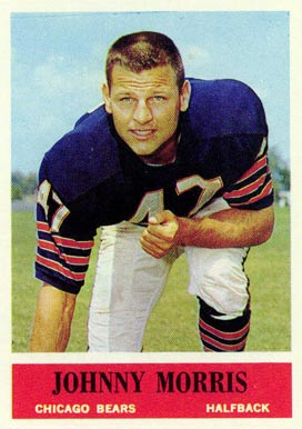 1964 Philadelphia Johnny Morris #22 Football Card