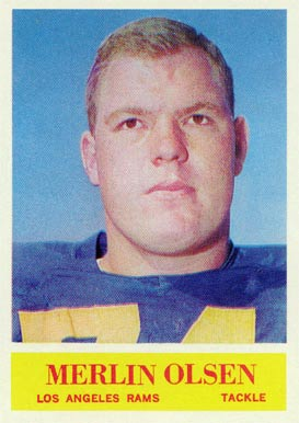 1964 Philadelphia Merlin Olsen #91 Football Card