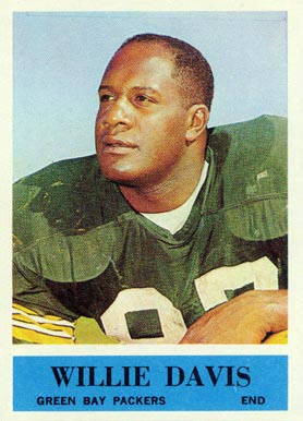 1964 Philadelphia Willie Davis #72 Football Card