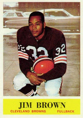 1964 Philadelphia Jim Brown #30 Football Card