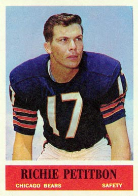 1964 Philadelphia Richie Petitbon #23 Football Card