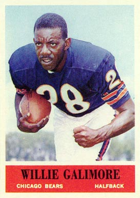 1964 Philadelphia Willie Gailmore #19 Football Card