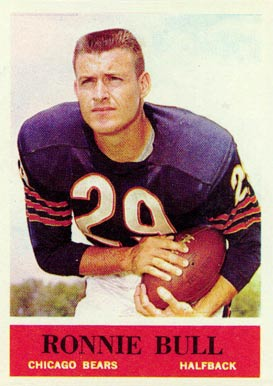 1964 Philadelphia Ron Bull #16 Football Card