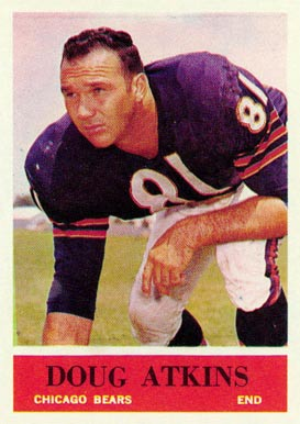 1964 Philadelphia Doug Atkins #15 Football Card
