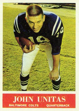 1964 Philadelphia Johnny Unitas #12 Football Card