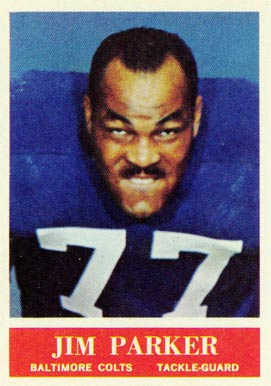 1964 Philadelphia Jim Parker #8 Football Card
