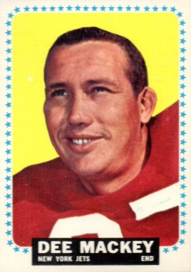 1964 Topps Dee Mackey #119 Football Card
