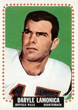 1964 Topps Daryle Lamonica #31 Football Card