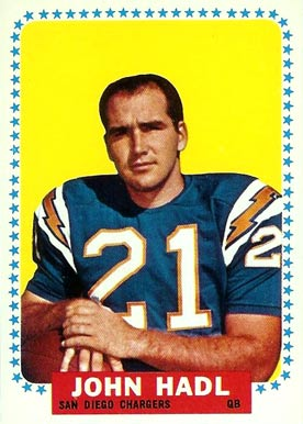 1964 Topps John Hadl #159 Football Card