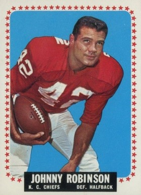 1964 Topps Johnny Robinson #105 Football Card