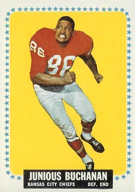 1964 Topps Buck Buchanan #92 Football Card