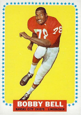 1964 Topps Bobby Bell #90 Football Card