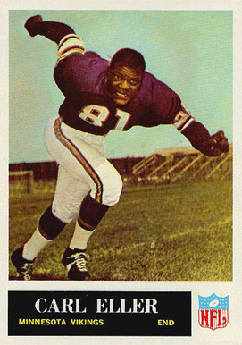 1965 Philadelphia Carl Eller #105 Football Card