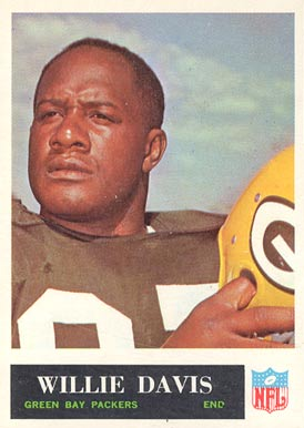 1965 Philadelphia Willie Davis #73 Football Card