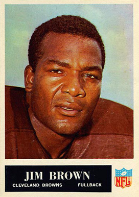 1965 Philadelphia Jim Brown #31 Football Card