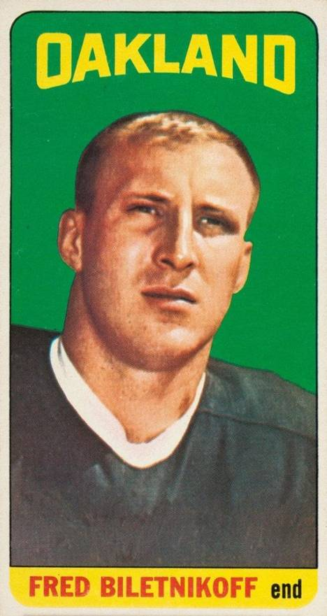 1965 Topps Fred Biletnikoff #133 Football Card