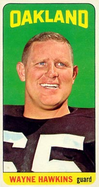 1965 Topps Wayne Hawkins #141 Football Card