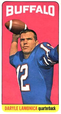 1965 Topps Daryle Lamonica #36 Football Card