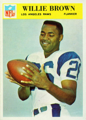 1966 Philadelphia Willie Brown #93 Football Card
