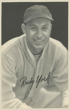 1939 Goudey Premiums Rudy York #24 Baseball Card