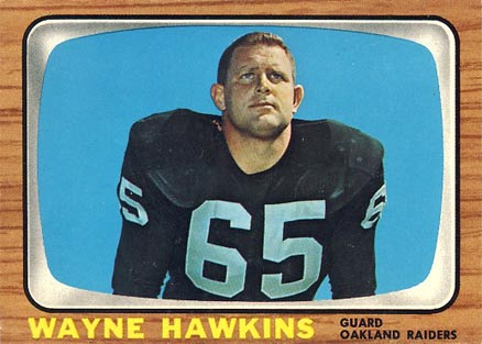 1966 Topps Wayne Hawkins #111 Football Card