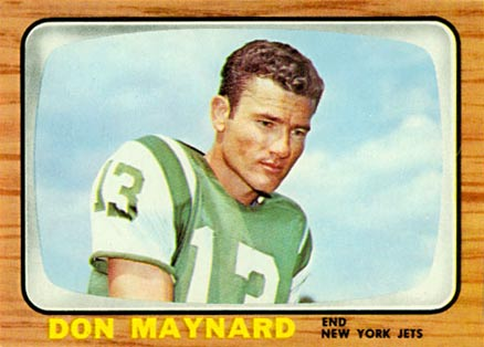 1966 Topps Don Maynard #95 Football Card