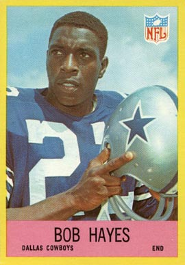 1967 Philadelphia Bob Hayes #52 Football Card