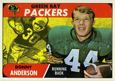 1968 Topps Donny Anderson #209 Football Card
