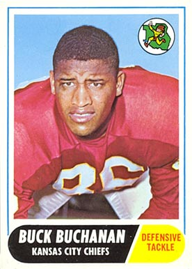 1968 Topps Buck Buchanan #197 Football Card