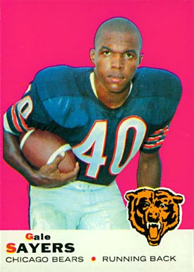 1969 Topps Gale Sayers #51 Football Card