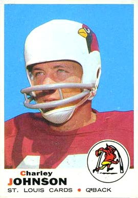 1969 Topps Charley Johnson #247 Football Card