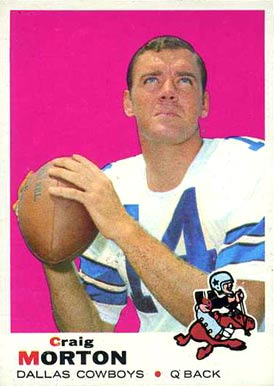 1969 Topps Craig Morton #235 Football Card