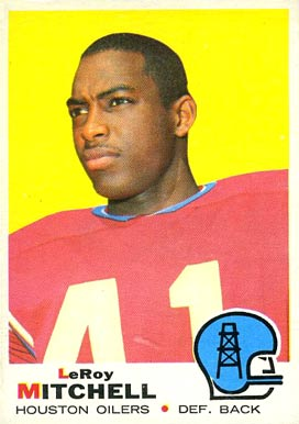 1969 Topps Leroy Mitchell #183 Football Card