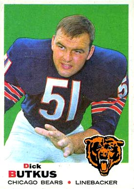 1969 Topps Dick Butkus #139 Football Card