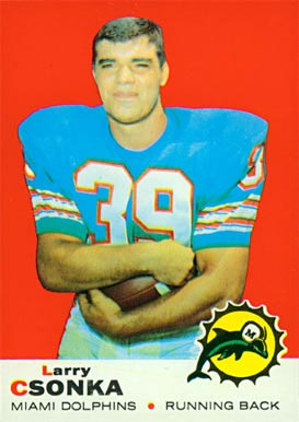 1969 Topps Larry Csonka #120 Football Card