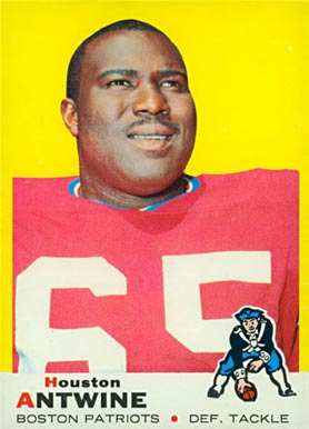1969 Topps Houston Antwine #108 Football Card