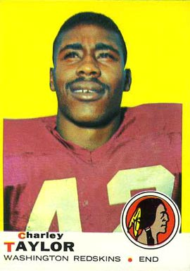1969 Topps Charley Taylor #67 Football Card