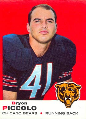 1969 Topps Brian Piccolo #26 Football Card