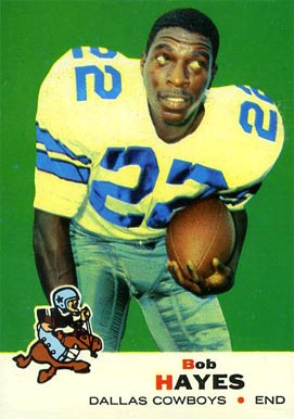 1969 Topps Bob Hayes #6 Football Card
