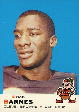 1969 Topps Erich Barnes #4 Football Card