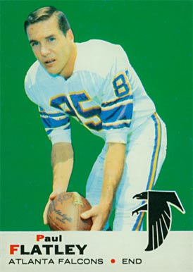 1969 Topps Paul Flatley #2 Football Card