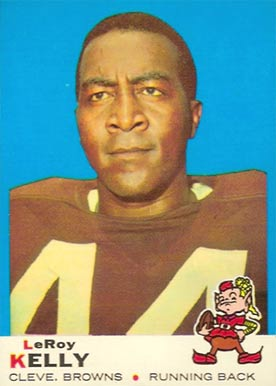 1969 Topps Leroy Kelly #1 Football Card