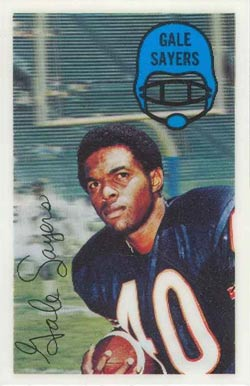1970 Kellogg's Gale Sayers #51 Football Card