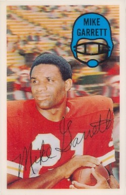 1970 Kellogg's Mike Garrett #25 Football Card