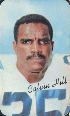 1970 Topps Super Calvin Hill #28 Football Card