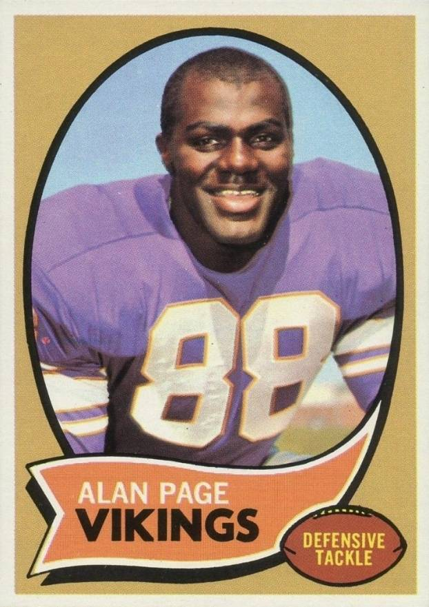 1970 Topps Alan Page #59 Football Card