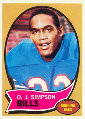 1970 Topps O.J. Simpson #90 Football Card
