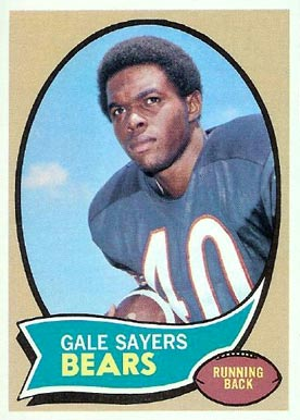 1970 Topps Gale Sayers #70 Football Card
