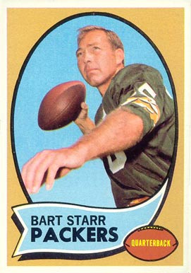 1970 Topps Bart Starr #30 Football Card